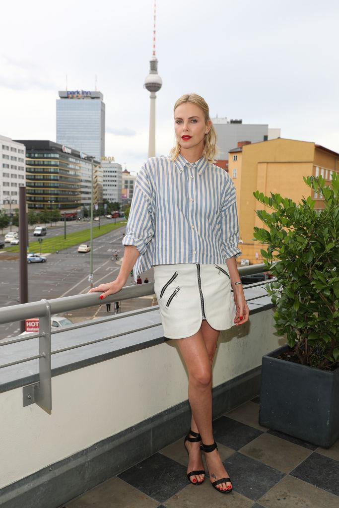 The Berlin press tour continues with a look from Isabel Marant. (Photo: Getty Images)