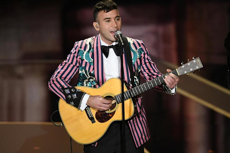 Musician Sufjan Stevens performs onstage during the 90th Annual Academy Awards at the Dolby Theatre at Hollywood & Highland Center on 4 March, 2018 in Hollywood, California. (Photo by Kevin Winter/Getty Images): Getty Images