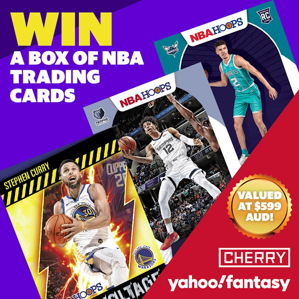 Enter to win $599 worth of Cherry NBA trading cards!