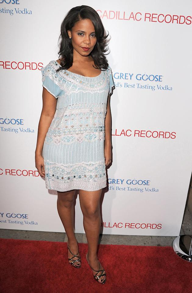 "<a href=""http://movies.yahoo.com/movie/contributor/1800316707"">Sanaa Lathan</a> at the Los Angeles premiere of <a href=""http://movies.yahoo.com/movie/1810003875/info"">Cadillac Records</a> - 11/24/2008"