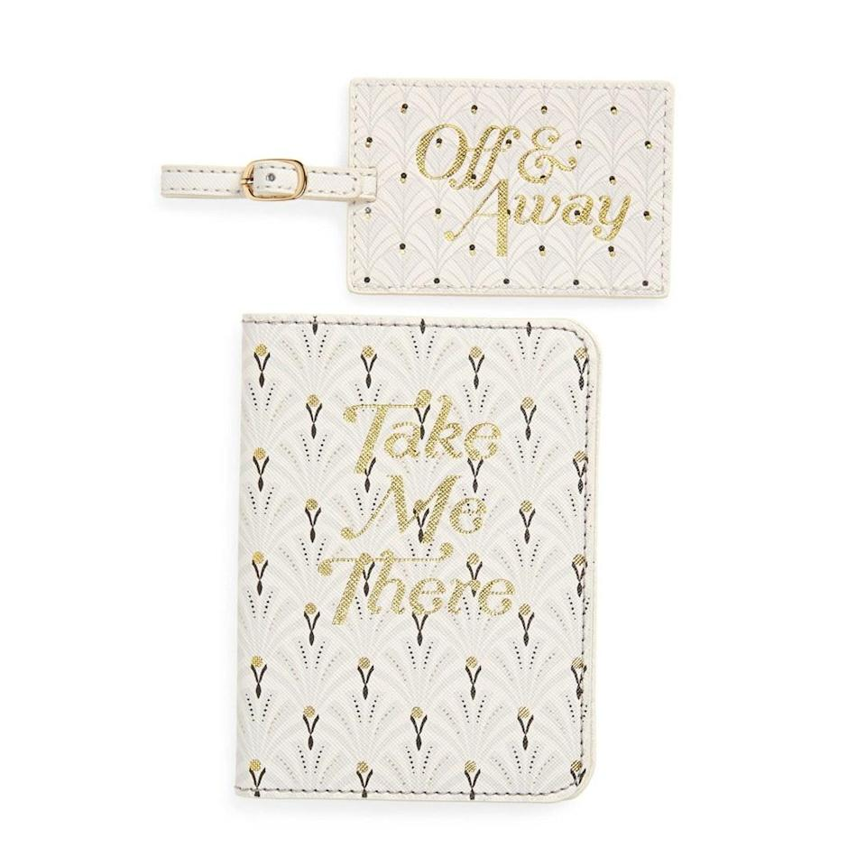 """<p>This sign is as independent as they come. The next time your favorite Aquarian decides to skip town, help them do it in style without losing their bags (they are an air sign, after all) with this passport and luggage tag set from Anthropologie. </p> <p><strong>$54</strong> (<a href=""""https://shop.nordstrom.com/s/anthropologie-passport-luggage-tag-set/5460433/full?origin=category-personalizedsort&breadcrumb=Home%2FWomen%2FAccessories%2FLuggage%20%26%20Travel&color=black"""" rel=""""nofollow noopener"""" target=""""_blank"""" data-ylk=""""slk:Shop Now"""" class=""""link rapid-noclick-resp"""">Shop Now</a>)</p>"""