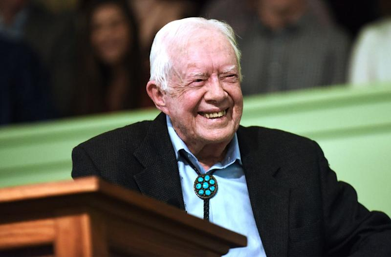 Former President Jimmy Carter in April | Paul Hennessy/NurPhoto/Getty