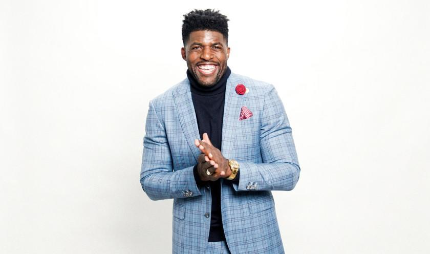Author and sports commentator Emmanuel Acho