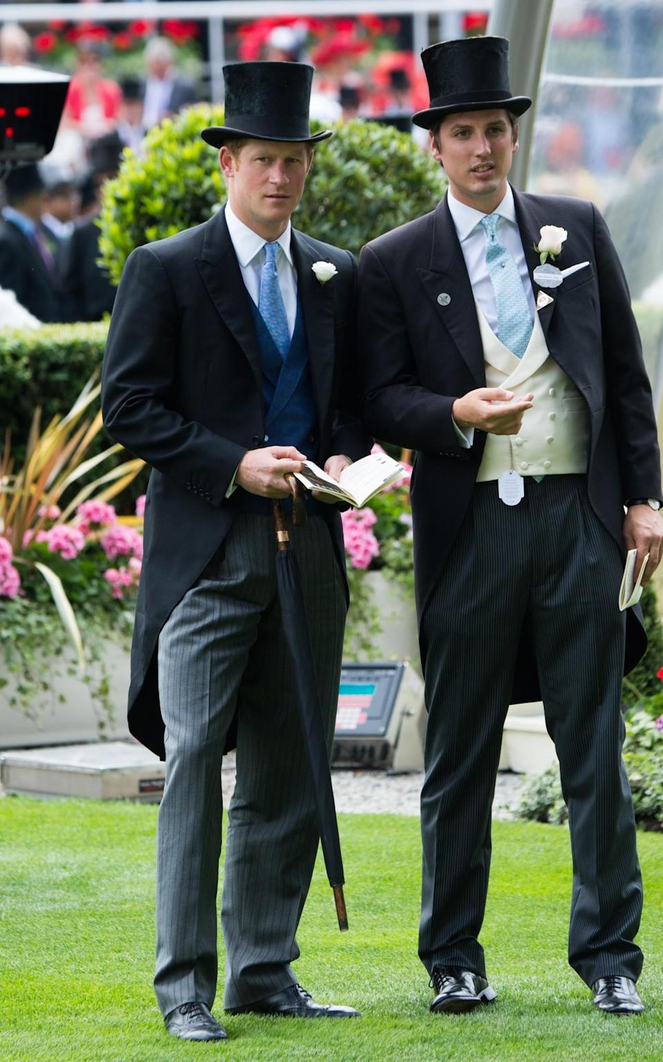 <p>Prince Harry was in the appropriate attire for the 2015 royal enclosure.<br><i>[Photo: PA]</i> </p>