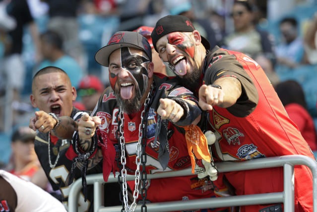 Buccaneers fans have a complicated team, with a few fun playmakers. (AP Photo/Lynne Sladky)