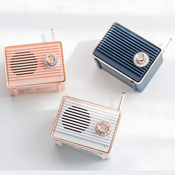 "<h3><a href=""https://amzn.to/2qrDOpL"" rel=""nofollow noopener"" target=""_blank"" data-ylk=""slk:Portable Bluetooth Vintage Speaker"" class=""link rapid-noclick-resp"">Portable Bluetooth Vintage Speaker</a> </h3><br>A wireless speaker that doubles as chic vintage-decor.<br><br><strong>Dosmix</strong> Wireless Retro Speaker, $, available at <a href=""https://amzn.to/2qrDOpL"" rel=""nofollow noopener"" target=""_blank"" data-ylk=""slk:Dosmix"" class=""link rapid-noclick-resp"">Dosmix</a>"
