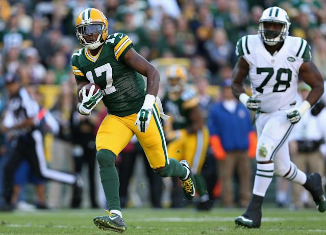 Green Bay rookie Davante Adams suddenly more than an afterthought