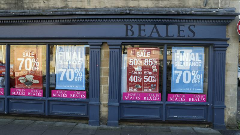 Final bust Beales stores to close two weeks early due to coronavirus
