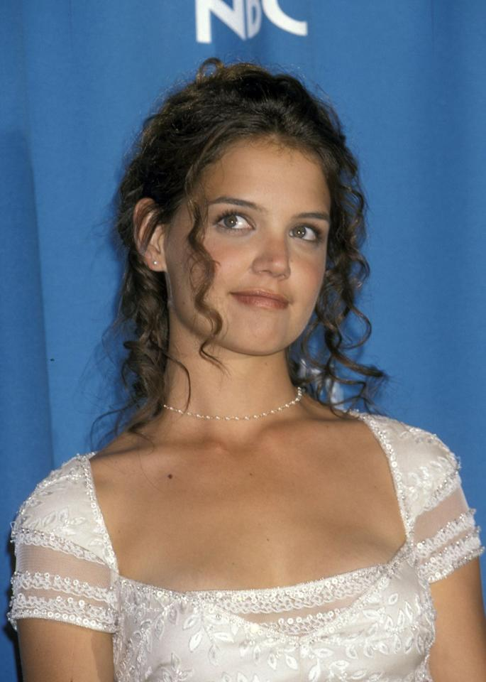 <p>When Katie first shot to stardom, she had sweet, ringlet curls to match her sweet personality.  </p>