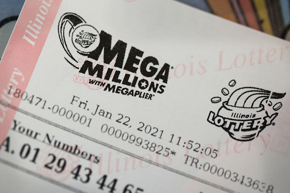 $500 million is up for grabs in Wednesday's Mega Millions jackpot lottery draw.