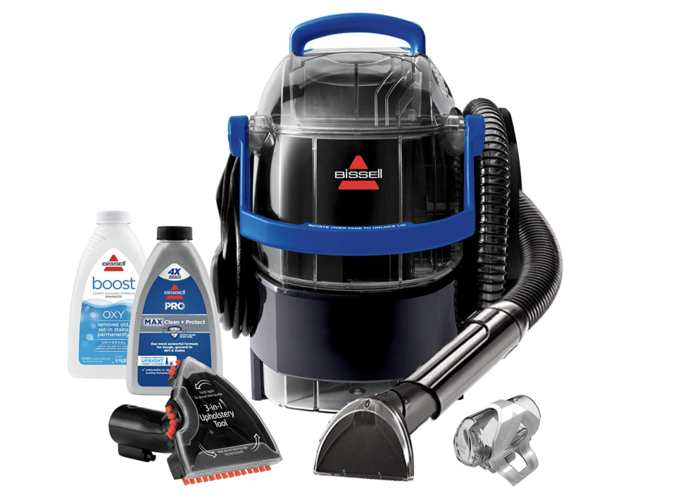 Bissell SpotClean Professional Portable Carpet and Upholstery Deep Cleaner - on sale for Black Friday, $140 (originally $200).