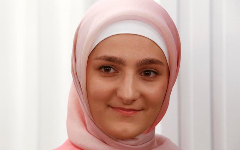 Aishat Kadyrova, head of the Firdaws fashion house and daughter of the Chechen Republic leader Ramzan Kadyrov - Credit: Reuters
