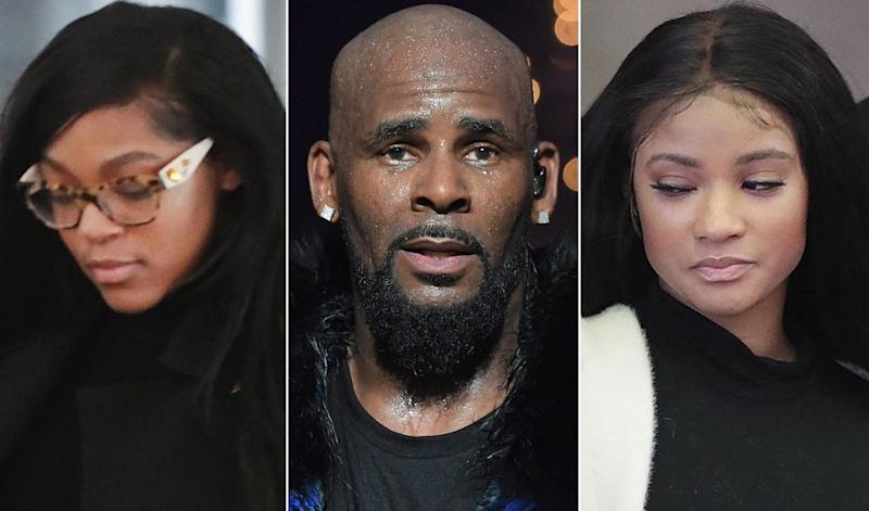 R Kelly's girlfriends get into physical altercation at Trump Tower Chicago