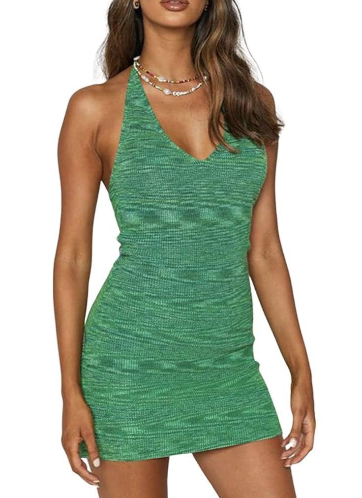 <p>This <span>Babamoon Halterneck Bodycon Dress</span> ($15) is ready for your next tropical vacation. Just throw on a chunky necklace, a minimal bag and some low-heeled mules to complete the look.</p>