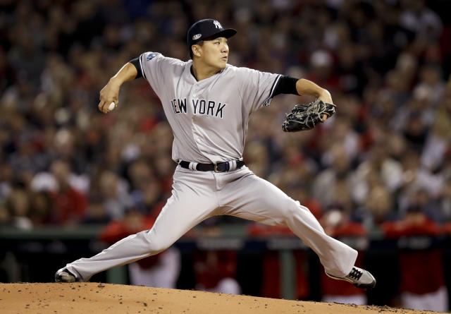 TBS announcer Ron Darling had an unfortunate choice of words while analyzing Yankees RHP Masahiro Tanaka. (AP Photo)