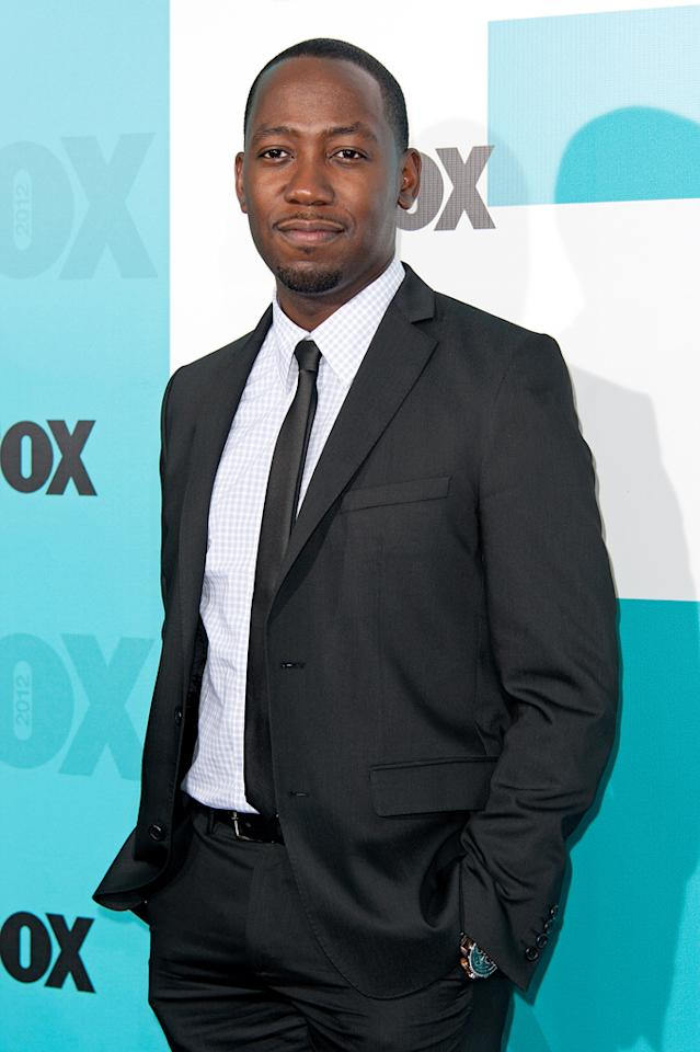 "Lamorne Morris (""New Girl"") attends the Fox 2012 Upfronts Post-Show Party on May 14, 2012 in New York City."