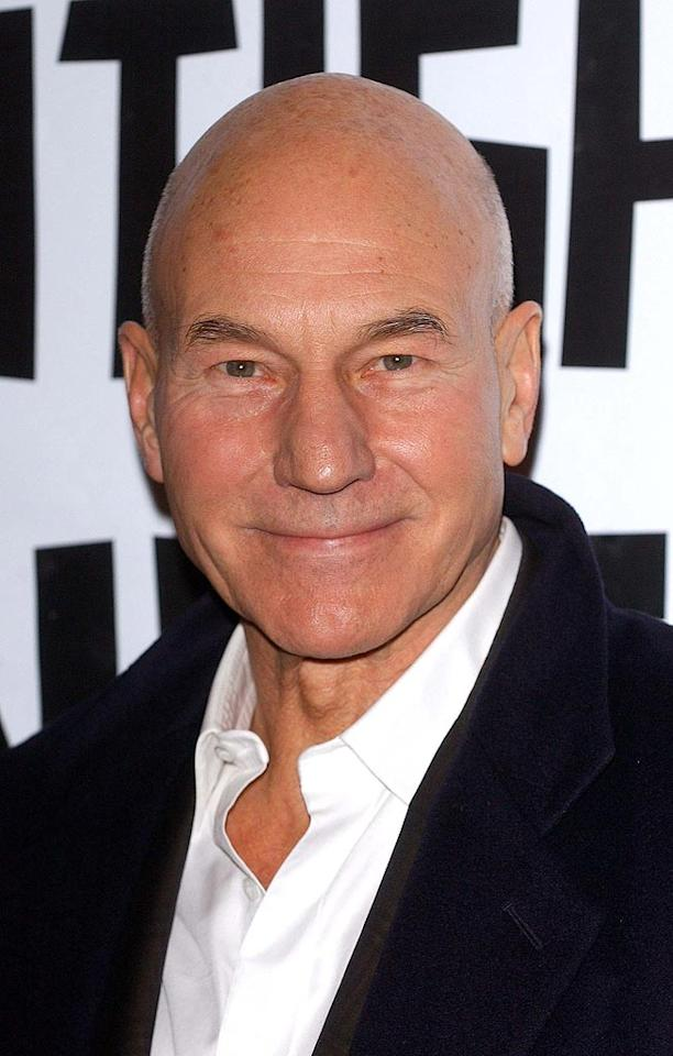 "Being bald didn't stop Patrick Stewart from being named TV Guide's ""Sexiest Man on Television"" in 1992. The British actor is best known for his roles as Captain Jean-Luc Picard on ""Star Trek: The Next Generation"" and Professor Xavier in the X-Men film franchise. James Higgins/<a href=""http://www.splashnewsonline.com"" target=""new"">Splash News</a> - November 30, 2005"