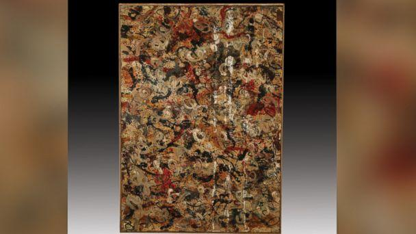 PHOTO: This painting, believed to be an original Jackson Pollock, may be worth $15 million. (jlevines.com)