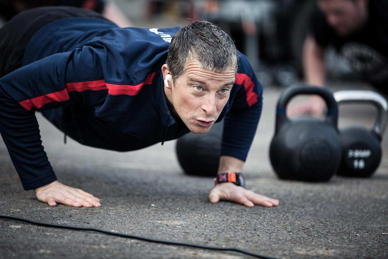 Bear Grylls is urging people to explore the opportunities of a 'fresher exercise environment' (Be Military Fit/PA)
