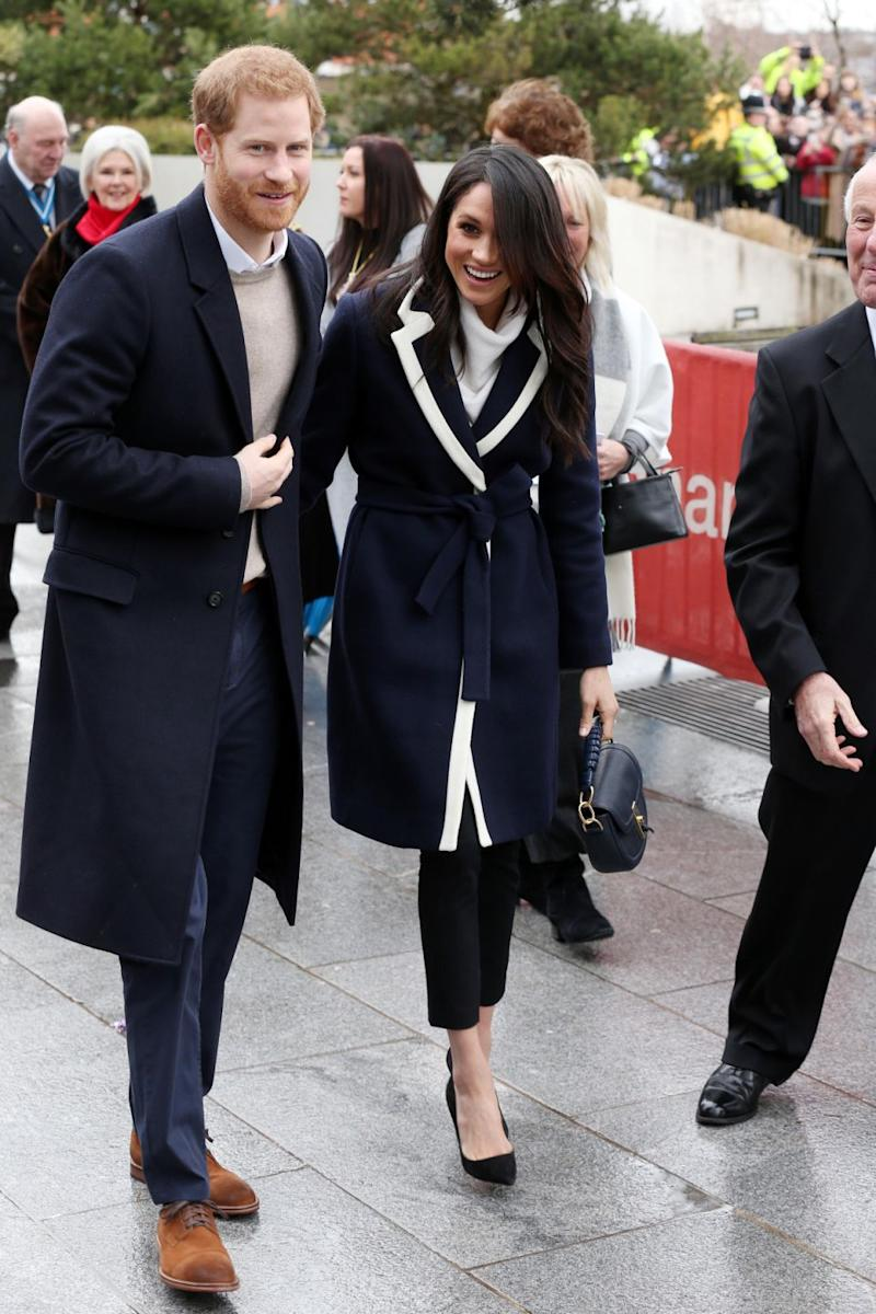 Harry and Meghan were in Birmingham to attend Millennium Point, which is a hub for some of the biggest technology organisations in the city. Photo: Getty Images