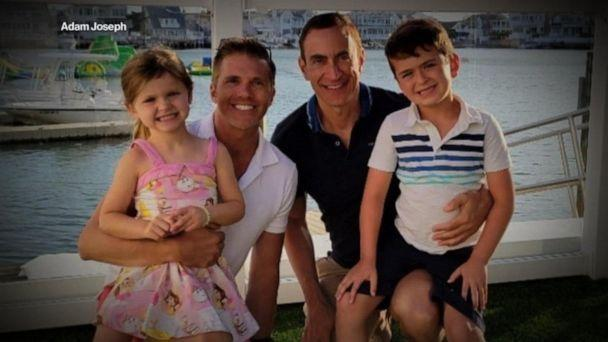 PHOTO: Adam Joseph poses with his husband Karl and their children Hannah, 5, and Jacob, 6, in this family photo. (Adam Joseph)