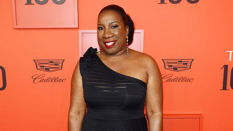Tarana Burke attends the TIME 100 Gala 2019 Lobby Arrivals at Jazz at Lincoln Center on April 23, 2019 in New York City.