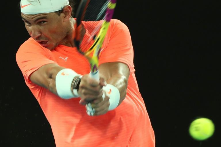 Rafael Nadal moved into the Australian Open third round