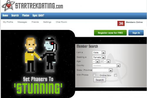 Star trek dating site