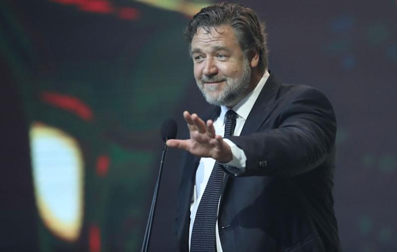 Russell Crowe's 'Art of Divorce' auction was a great success on Saturday, as the actor raked in almost $4million. Source: Getty