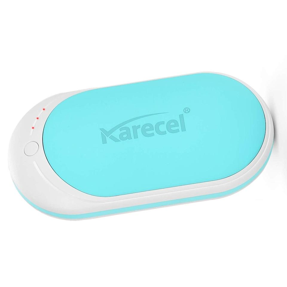 <p>Warm up in seconds with these handy <span>Karecel Rechargeable Hand Warmers</span> ($25).</p>