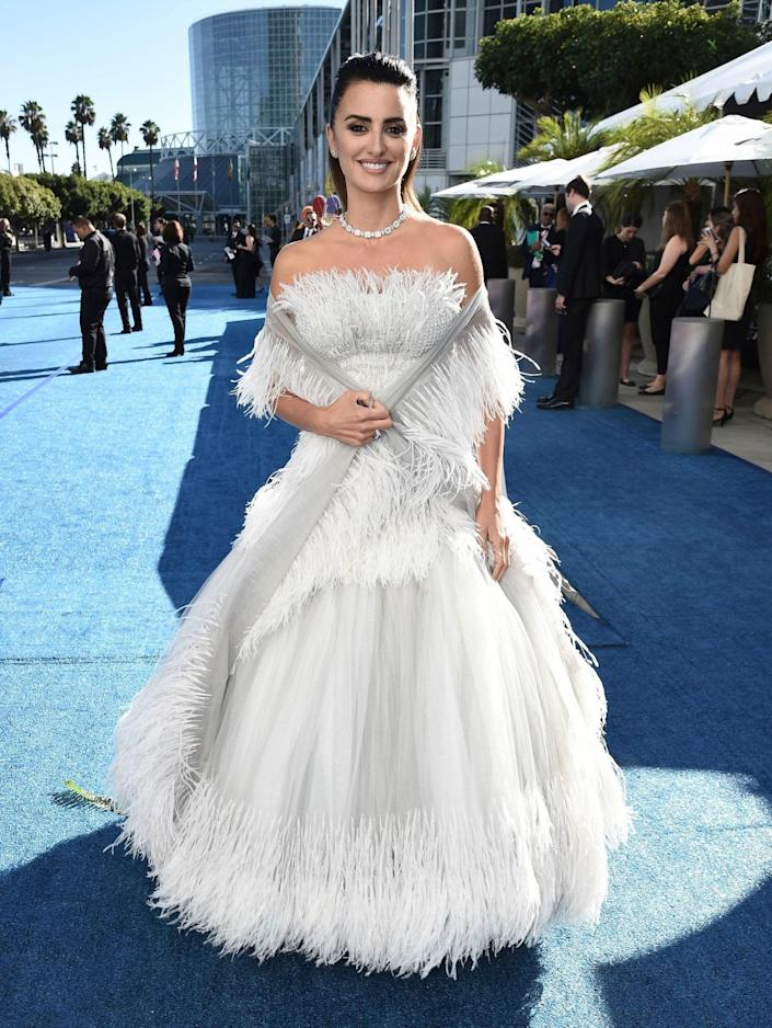 At the 70th Emmy Awards, September 2018