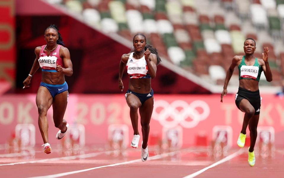 Dina Asher-Smith secures qualification - GETTY