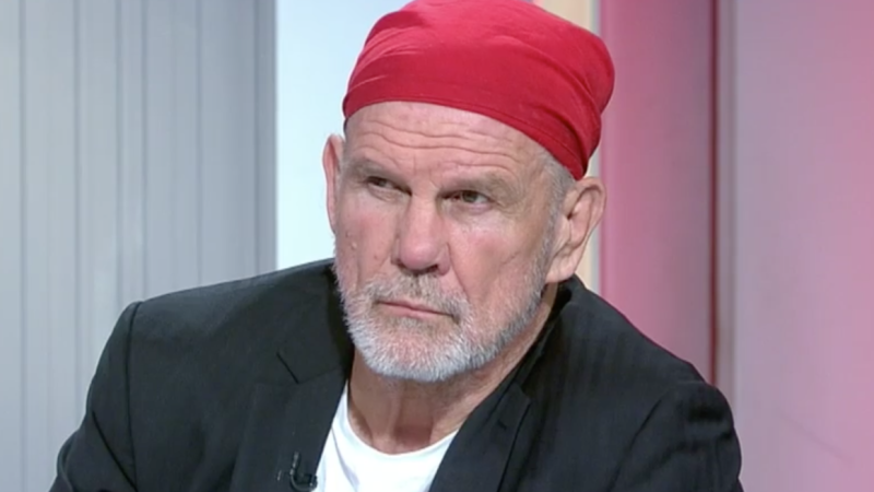 Sporting commentator Peter FitzSimons, pictured during Channel 9's Sports Sunday, took aim at Racing NSW.