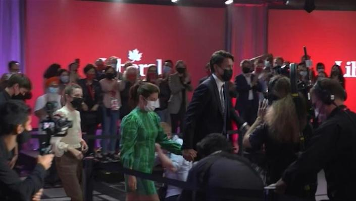 'A clear mandate': Justin Trudeau speaks after being returned as Canada PM (AFP/Agnes BUN)