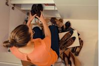 """<p>Stay on top of your organized closet by going through your clothing and clearing out what you don't wear at the end of every season</p><p>. """"For example, having just come out of the summer season, you'll know which clothes you wore during summer, and which clothes you avoided,"""" Wilcox says. """"Get rid of any summer clothing that you went through the whole summer season without wearing."""" </p><p>Stay organized as you go through your clothes as well. </p><p>""""It's useful to use three boxes when going through your closet; one for clothes to sell or donate, one for clothes to throw away, and one for clothes to store (stuff you love but can't bear to get rid of yet),"""" Wilcox says. """"Putting items in the 'store' box is the first step to getting rid of them, it actually starts the mental shift and you may find by the end of the declutter process you are ready to let some of those items go too."""" </p><p><strong>__________________________________________________________</strong><em><br><br><a href=""""https://subscribe.hearstmags.com/subscribe/womansday/253396?source=wdy_edit_article"""" rel=""""nofollow noopener"""" target=""""_blank"""" data-ylk=""""slk:Subscribe to Woman's Day"""" class=""""link rapid-noclick-resp"""">Subscribe to Woman's Day</a> today and get <strong>73% off your first 12 issues</strong>. And while you're at it, <a href=""""https://subscribe.hearstmags.com/circulation/shared/email/newsletters/signup/wdy-su01.html"""" rel=""""nofollow noopener"""" target=""""_blank"""" data-ylk=""""slk:sign up for our FREE newsletter"""" class=""""link rapid-noclick-resp"""">sign up for our FREE newsletter</a> for even more of the Woman's Day content you want. </em><br></p>"""