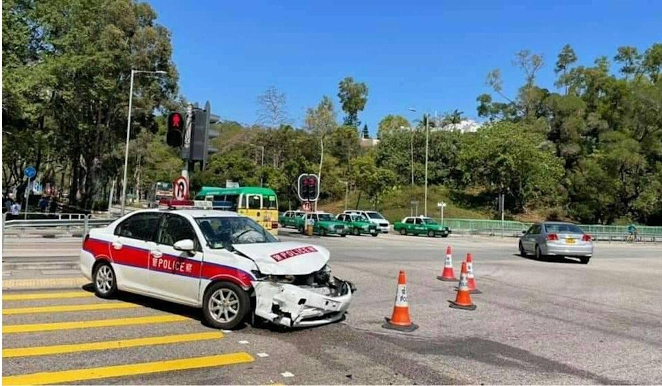 The accident happened near Fu Heng Estate. Photo: Facebook