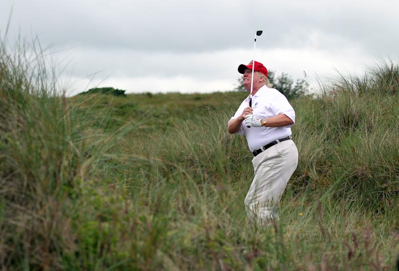 Trump Didn't Take Phone Calls While Golfing Because He Wanted To Focus On Game, Golf Buddy Says