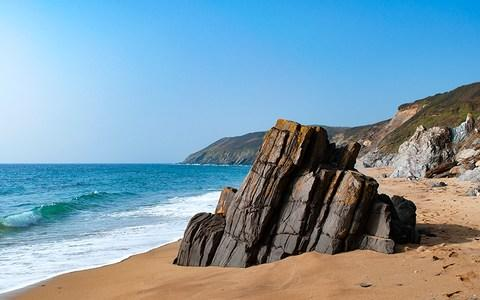 Porthbeor beach - Credit: Getty