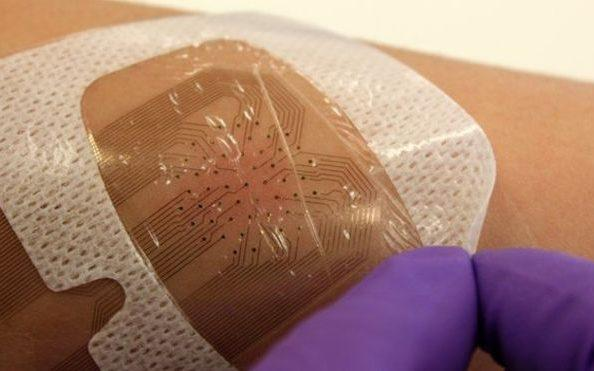 The University of California is also trialing smart bandages which can detect bedsores  - Credit: UC Berkley