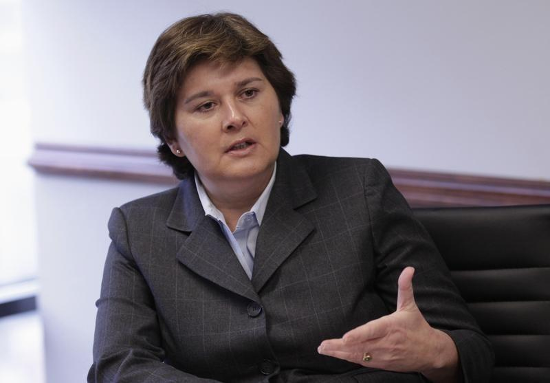 General Dynamics Corp Vice President Short speaks at the Reuters Cybersecurity Summit in Washington