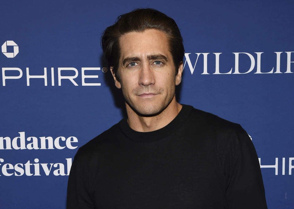 """Actor Jake Gyllenhaal attends """"Wildlife"""" premiere party at Chase Sapphire on Main on Saturday, Jan. 20, 2018, in Park City, Utah. (Photo by Evan Agostini/Invision for Chase Sapphire/AP Images)"""