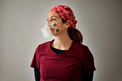 Dorma 99 mask : reusable, environmentally friendly, manufactured and distributed in Canada (CNW Group/Dorma Filtration)