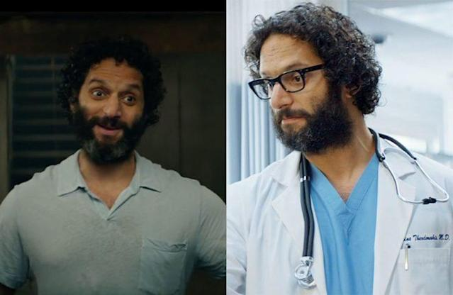 Jason Mantzoukas in 'The House' (WB) / Jason Mantzoukas in 'Neighbors' (Universal)