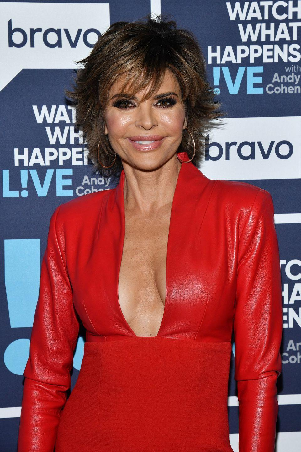 """<p>Real Housewives of Beverly Hills star Lisa Rinna is known for her lips, so it was a surprise when she opened up about getting her injections reduced years later. 'I have it like that for my whole career, right?' <a href=""""https://www.tvguide.com/news/lisa-rinna-lip-trouble-today-video-1062939/"""" rel=""""nofollow noopener"""" target=""""_blank"""" data-ylk=""""slk:Lisa said"""" class=""""link rapid-noclick-resp"""">Lisa said</a>, adding it was a 'stupid thing to do at 24.' </p><p>'So then cut to a couple of years ago, I have a doctor remove as much as they possibly can because it got to the point where they were yucky. You know, they get hard. It's gross. So they are now whatever that was after they took out as much of the silicone as they could.'</p>"""