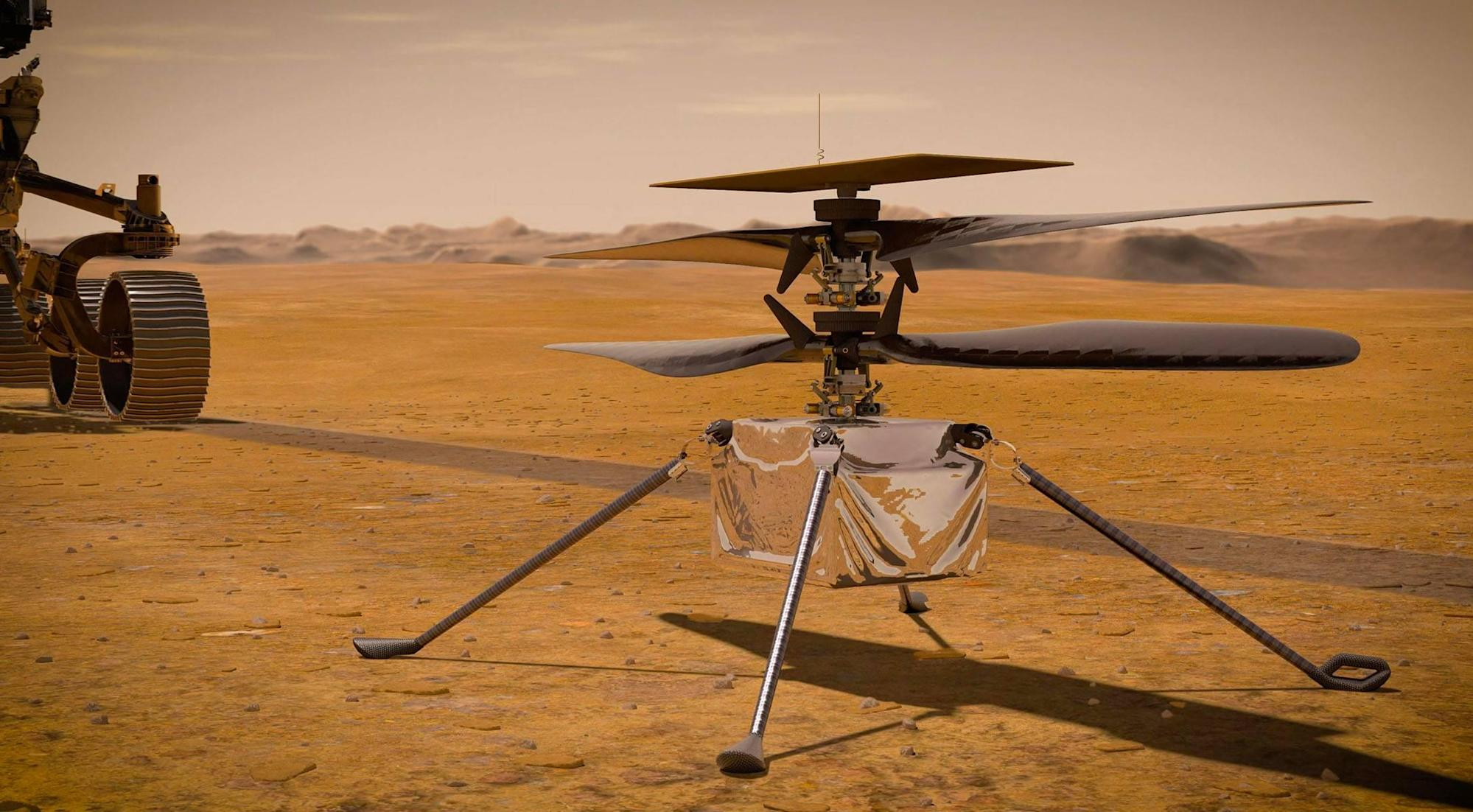 Here's what NASA wants its Mars helicopter to do next