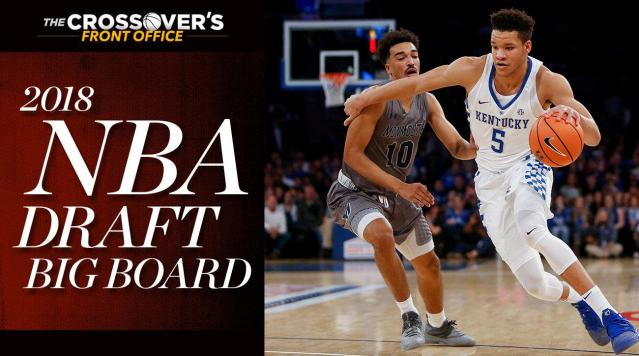 """<p>With about a month of college games in the bag and plenty of data to pore over, it's a good time to re-assess the 2018 NBA draft's top 60 prospects as conference play approaches.</p><p>While our <a href=""""https://www.si.com/nba/nba-mock-draft-2018"""" rel=""""nofollow noopener"""" target=""""_blank"""" data-ylk=""""slk:Mock Draft"""" class=""""link rapid-noclick-resp"""">Mock Draft</a> aims to project what the draft might look like on a given day of the season and factors in team needs, the Big Board serves as our own point of reference for the available player pool. These rankings are based on our own evaluations and conversations with NBA scouts, and establishes how we'd rate prospects in a vacuum (a scenario, of course, that will never actually happen). </p><p>Gifted Arizona center DeAndre Ayton remains atop our draft board, with Luka Doncic and Marvin Bagley a close second and third, respectively. High-scoring Oklahoma guard Trae Young moves into first-round territory, as does intriguing draft-eligible high schooler Anfernee Simons. The big picture remains extremely fluid. Here's how we see it.</p><p><em>(Note: Rankings and stats last updated Dec. 11).</em></p><h3>1. DeAndre Ayton, C, Arizona 
