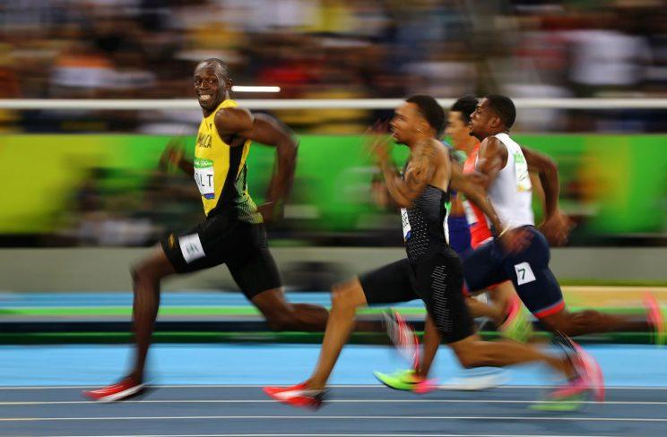 Usain Bolt is very, very, very fast at any distance. (Reuters)