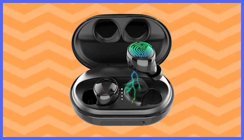 See why more than 3,600 reviewers swear by these $26 waterproof wireless earbuds—save $8. (Photo: Amazon)