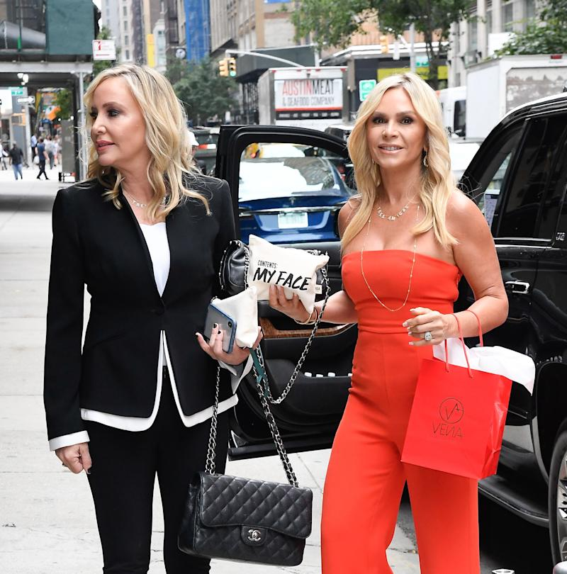 Shannon Beador and Tamra Judge caught by paparazzi