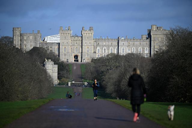 The Queen was taken to Windsor Castle on advice from royal aides. (Getty)